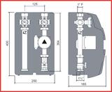 Rýchlomontážna zostava SA125