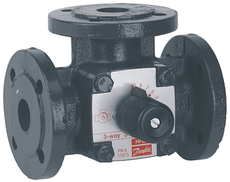 3-cestný ventil 3F 100 DN100