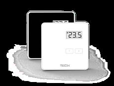 Izbový termostat CS-294 v1 biely