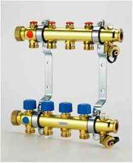 Rozdeľovač s termo. ventilami 7 cestný