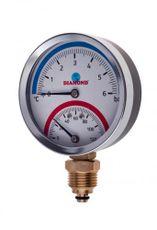 "Termomanometer Diamond 80/120 6bar 1/2"" spodný"