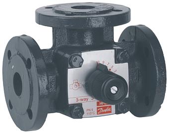 3-cestný ventil WOMIX 3F 125
