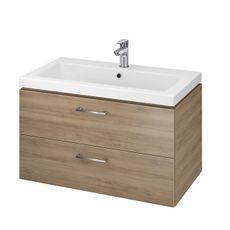CERSANIT - Set skrinka + umývadlo orech LARA COMO 80 (S801-154-DSM)