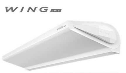 Dverná clona WING E150 EC - elektrické špirály