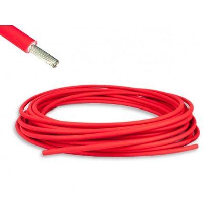Fotovoltaický kábel 4mm2 červený