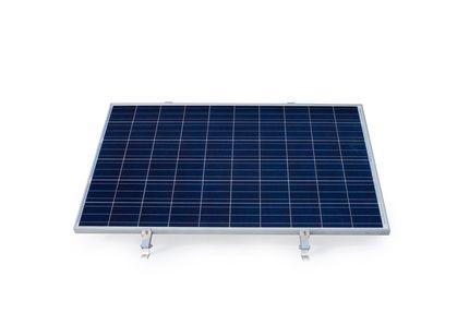 Konštrukcia pre 1 PV na rovinu - panel na ležato sklon 0°-10°